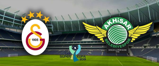 Galatasaray - Akhisarspor Süper Kupa maçı Atv Canlı izle